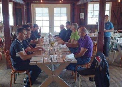 Lunch på Fejan med kunder